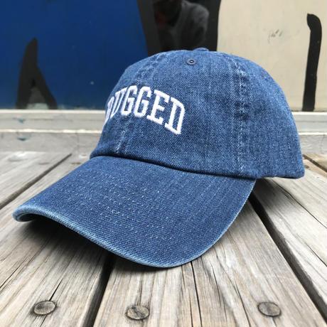 【残り僅か】RUGGED ''ARCH LOGO'' adjuster cap (Denim)