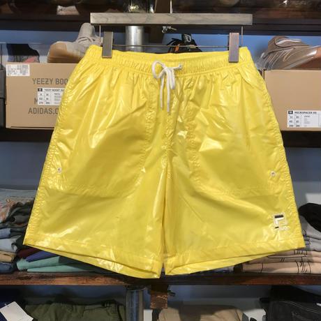 【ラス1】FILA nylon mesh shorts (Yellow)