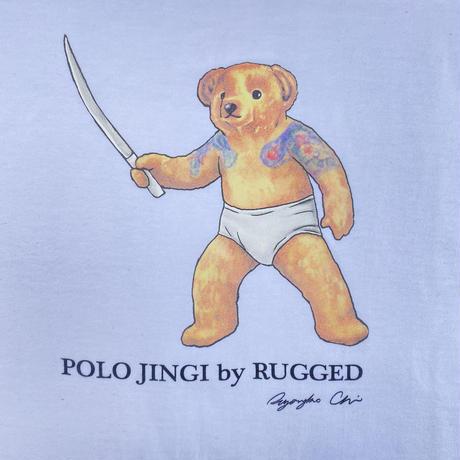 """【残り僅か】RUGGED """"POLO JINGI"""" tee (White)"""