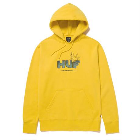 【ラス1】HUF TOO HIGH P/O HOODIE (Golden)