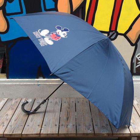 """【ラス1】SECOND LAB """"MICKEY NY""""Umbrella(Navy)"""