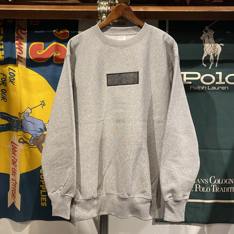 "【残り僅か】AnotA ""COAX"" reverse weave  sweat (Gray/12.0oz)"