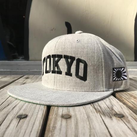 """【ラス1】RUGGED  """"TOKYO"""" snapback (Gray)"""