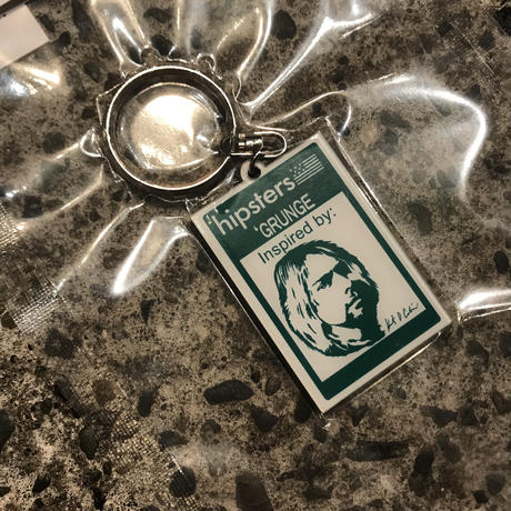 【残り僅か】SECOND LAB HIPSTERS KEY RING (Grunge)