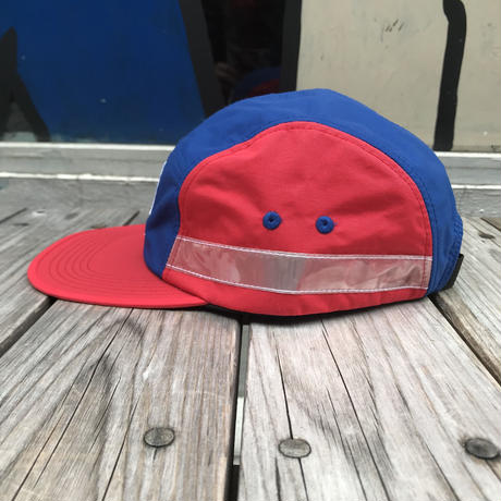 【残り僅か】FILA 5panel side tape adjuster cap (Red)