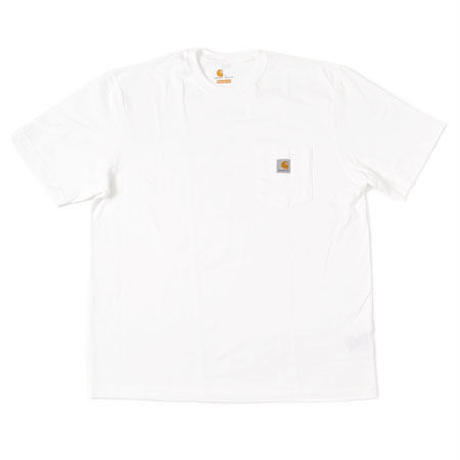 【残り僅か】Carhartt pocket tee (White)