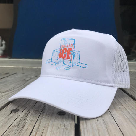"RUGGED ""CHILLIN' ICE 2019"" mesh cap  (White)"