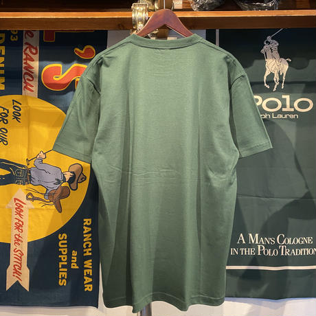 "RUGGED ""POLO KUSH"" tee (Ivy Green)"