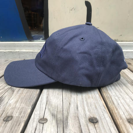 【ラス1】RUGGED ''ARCH LOGO'' adjuster cap (Navy×Navy)