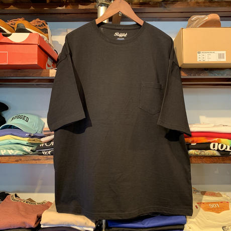 "【残り僅か】RUGGED ""Neptune"" pocket tee (Black)"