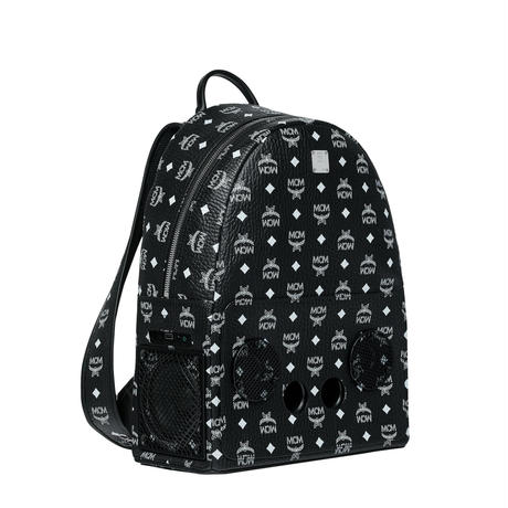 【Exclusive】MCM × wizpak speaker backpack (Black)