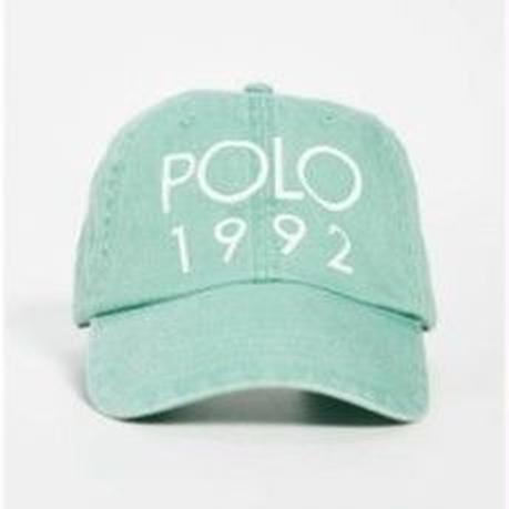 """【残り僅か】POLO RALPH LAUREN """"1992 """"cotton  twill sport cap (Green)"""