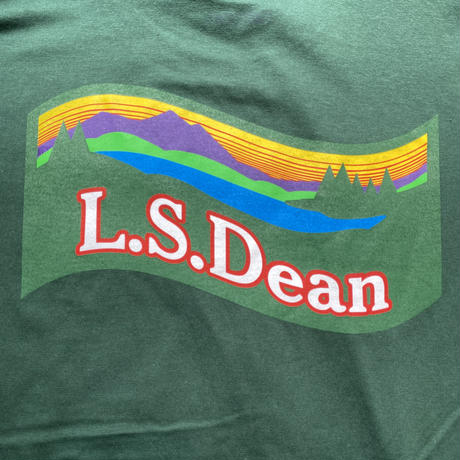 """【ラス1】RUGGED """"L.S.Dean"""" tee (Ivy Green)"""