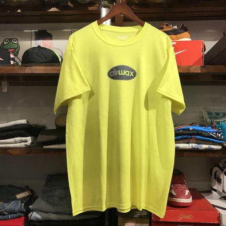 "【残り僅か】RUGGED ""airwax"" tee  (Neon Yellow)"