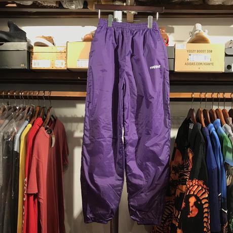 """RUGGED on Vintage """"rugged®︎"""" nylon pants (Purple)①"""