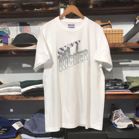 """【残り僅か】SH*T KICKER """"95"""" logo tee (White/RUGGED別注)"""