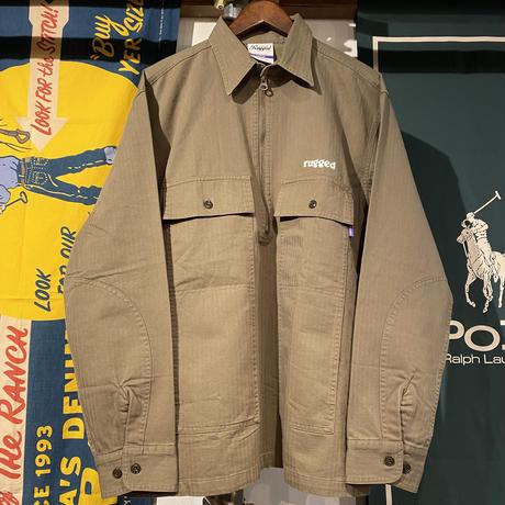 【ラス1】RUGGED military anorak jacket (Olive)