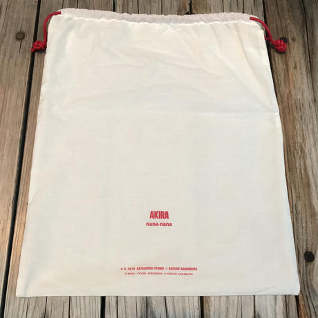 AKIRA Art of Wall x nana-nana A4 Clear Bag (Red)