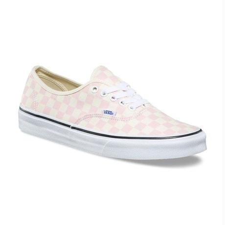 【残り僅か】VANS Authentic Checkerboard (Pink)