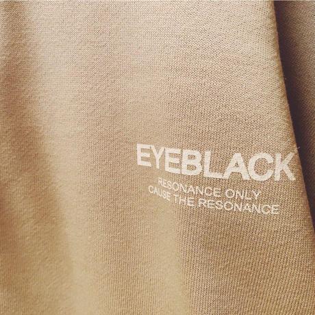 "EYE BLACK ""LOGO"" pullover parka (Stone/12.4oz)"