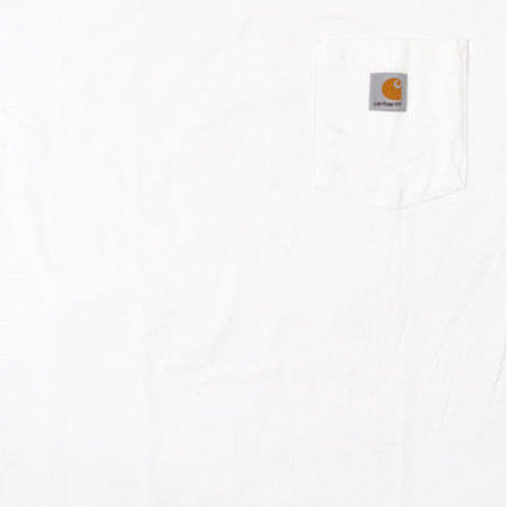【ラス1】Carhartt pocket tee (White)