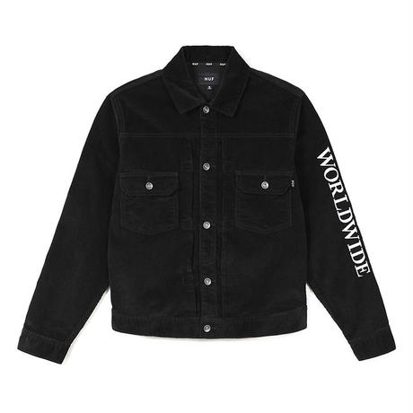 【ラス1】HUF LENNOX JACKET (Black)
