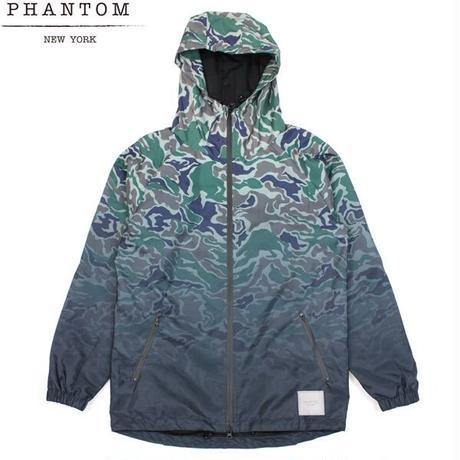 【残り僅か】PHANTOM NYC Fade Camo Nylon Jacket (Woodland Camo)