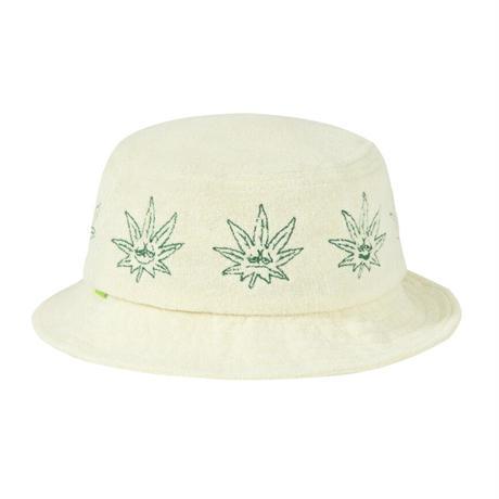 【ラス1】HUF GREEN BUDDY TERRY CLOTH BUCKET (Natural)
