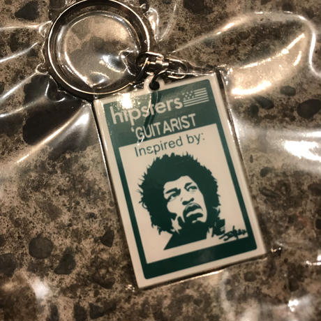 【ラス1】SECOND LAB HIPSTERS KEY RING (Guitarist)