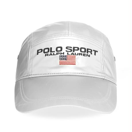 【exclusive】POLO SPORT SILVER adjuster cap (Silver)