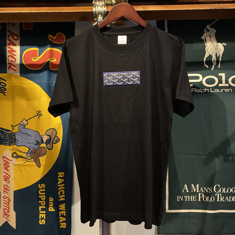 "【ラス1】AnotA ""GOX"" tee (Black/Navy)"