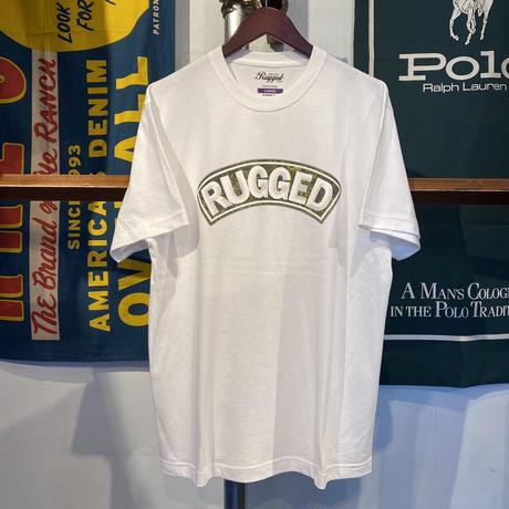 """【ラス1】RUGGED """"SUPER HIGH GRADE"""" tee (White)"""