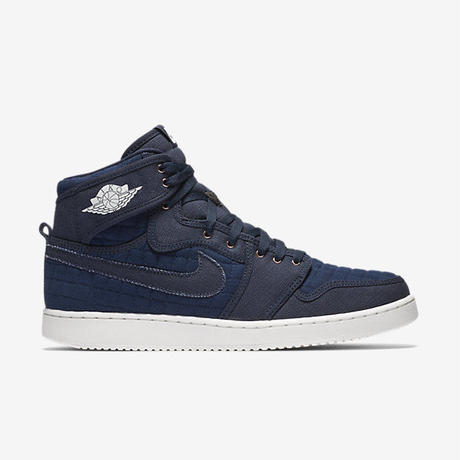 "【残り僅か】NIKE ""AIR JORDAN 1 RETRO KO HIGH OG"" (OBSIDIAN/WHITE/METALLIC BRONZE)"