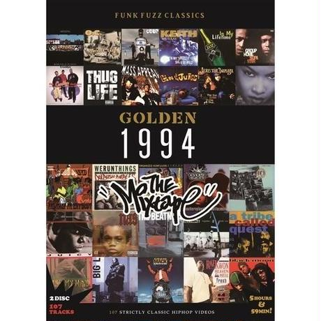 "GOLDEN ""1994"" classic hiphop videos (DVD)"