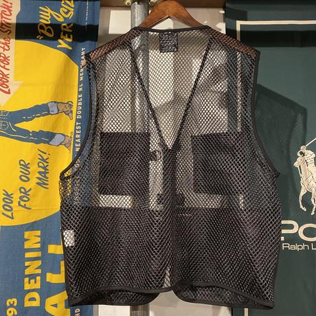 RUGGED fishing mesh vest (Black)