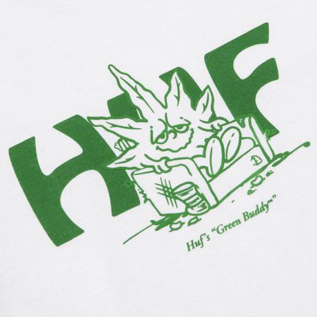 【ラス1】HUF IN DA COUCH S/S TEE (White)