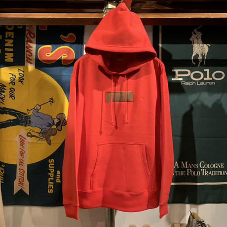 "【ラス1】AnotA ""FOX "" sweat hoodie (Red/10.0oz)"