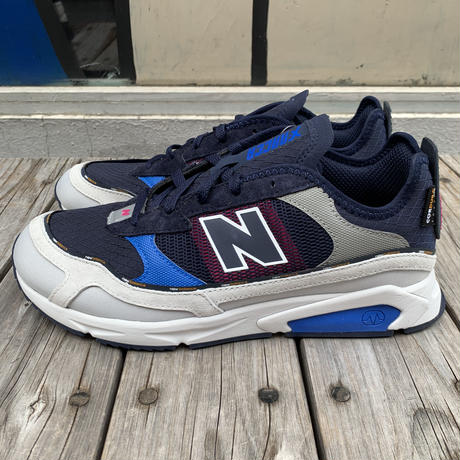 【ラス1】New Balance X-RACER RE (Gray/Navy)