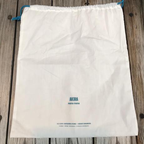 【残り僅か】AKIRA Art of Wall x nana-nana A4 Clear Bag (Blue)