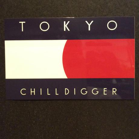 RUGGED ''TOKYO CHILL DIGGER'' sticker
