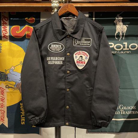 BEN DAVIS wappen cotton brend coach jacket (M)