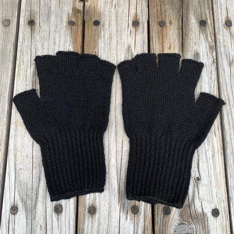 Millitary Army Fingerless gloves (Black)
