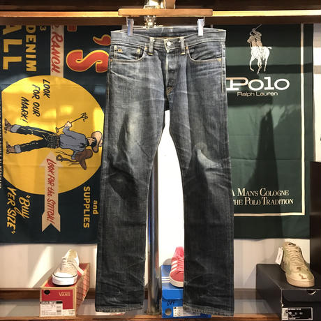 RRL straight denim pants (32)