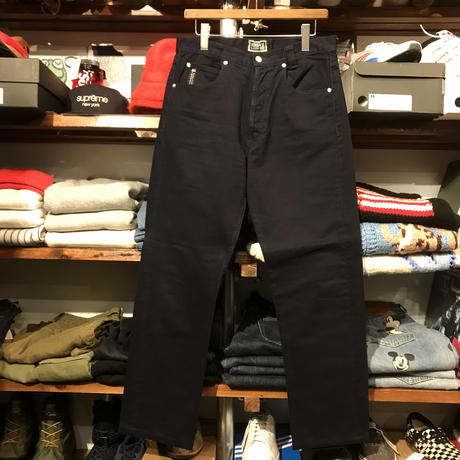 VERSACE CLASSIC V2cotton pants (Black)