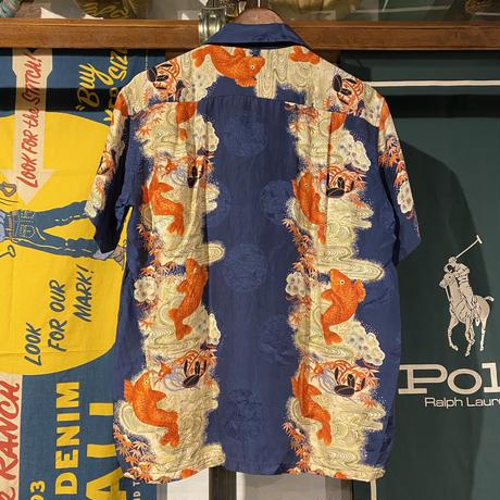 Tdimahima open collar silk shirts (M)