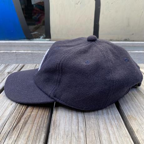 "unknown brand wool ""M"" logo adjuster cap"