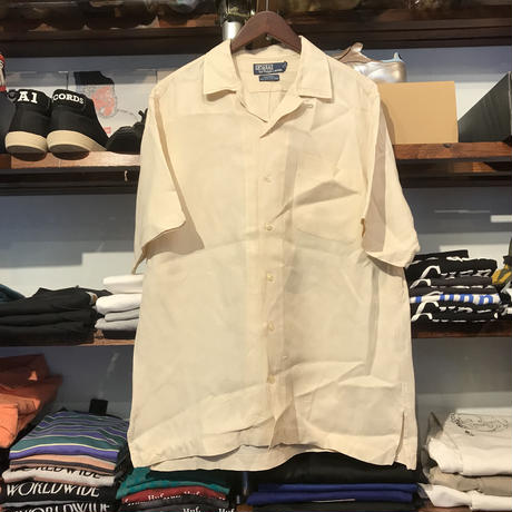 POLO RALPH LAUREN silk shirt (M)