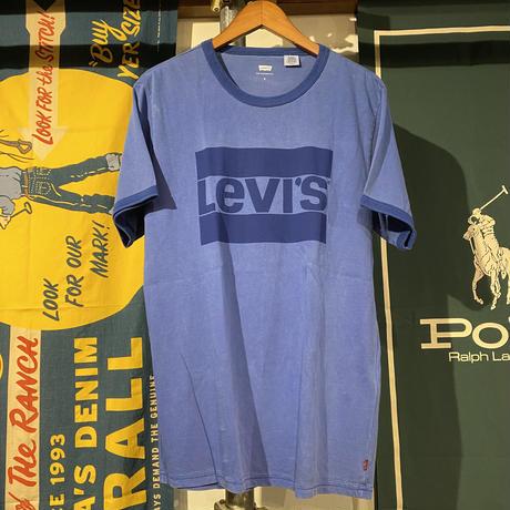 Levi's logo ringer tee (S)