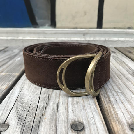 POLO RALPH LAUREN leather ring belt (XL)