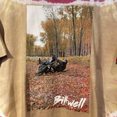"""unknown """"Biltwell"""" big print tee (L)"""